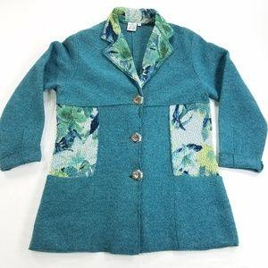 Parsley & Sage Jacket Coat Cardigan Sweater Wool